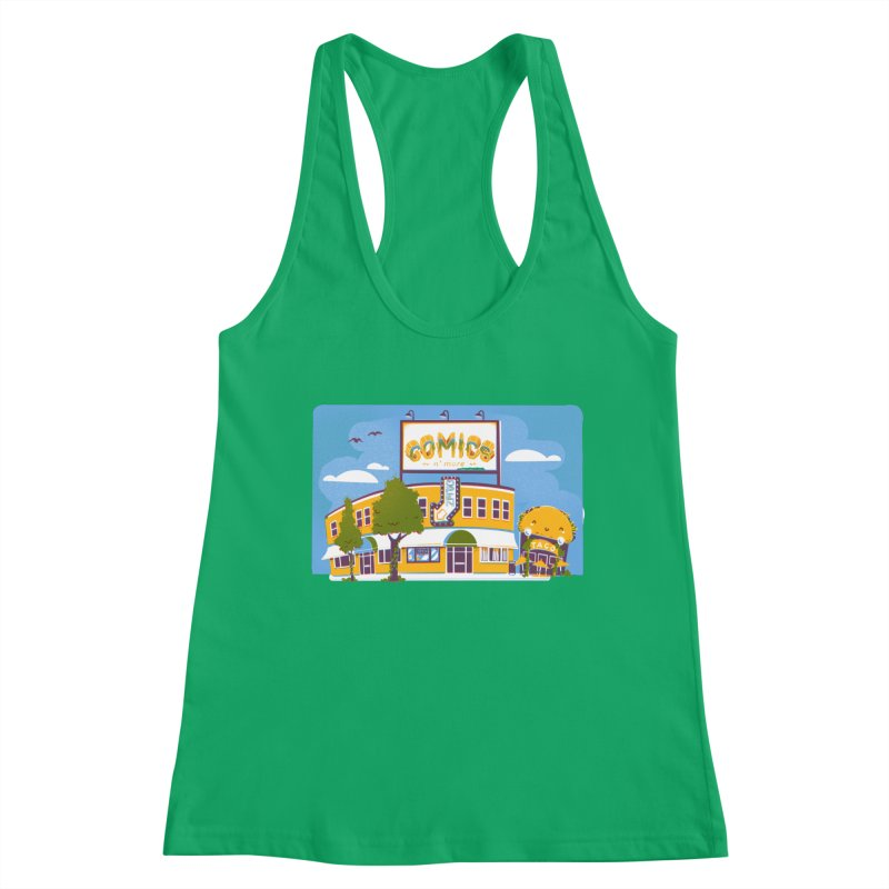 Our 7 Year Anniversary White Women's Tank by Comixmonger's Closet