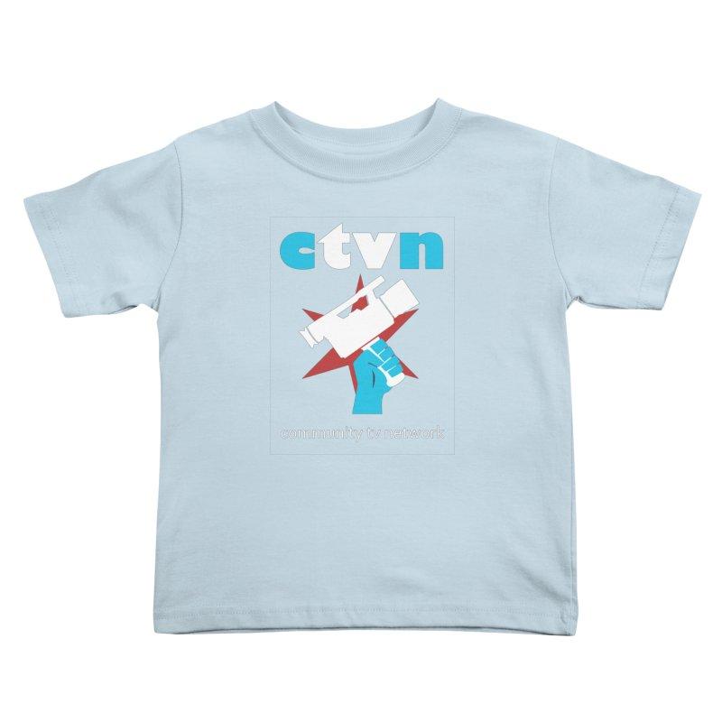 Community TV Network Kids Toddler T-Shirt by CommunityTVNetwork's Artist Shop