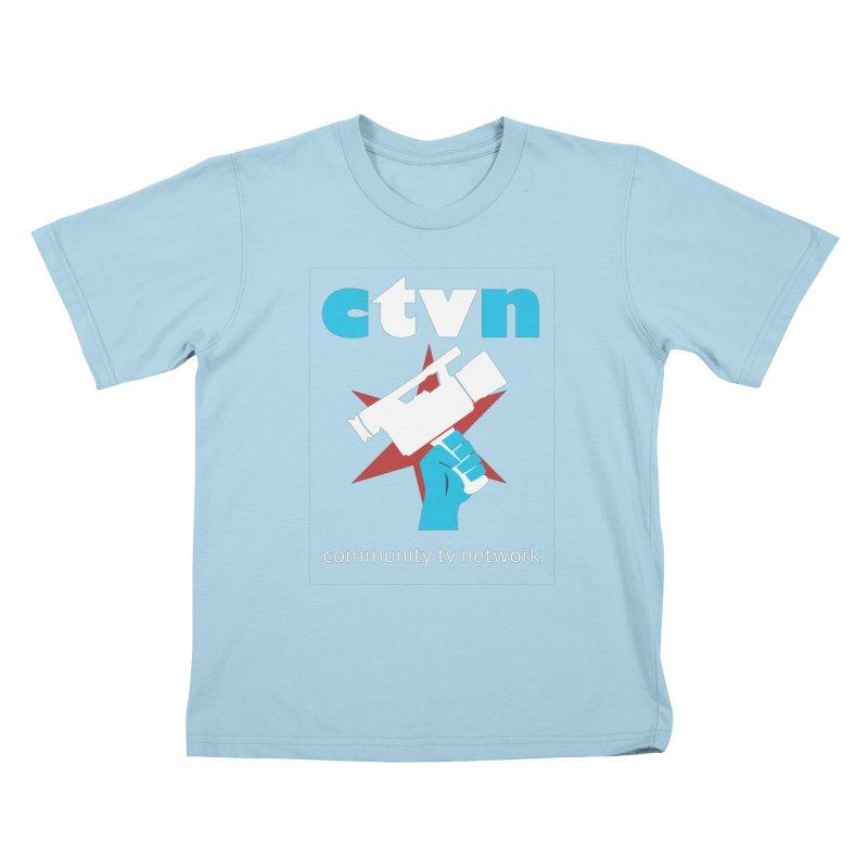 Community TV Network Kids T-Shirt by CommunityTVNetwork's Artist Shop