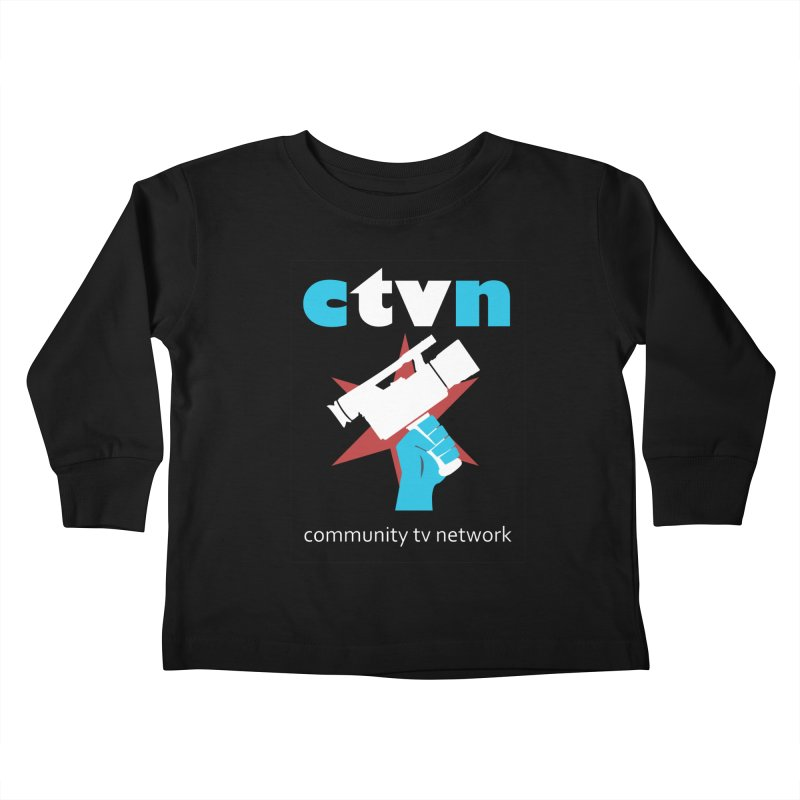 Community TV Network Kids Toddler Longsleeve T-Shirt by CommunityTVNetwork's Artist Shop