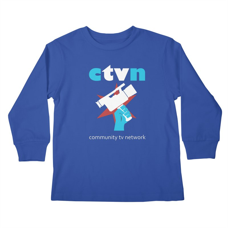 Community TV Network Kids Longsleeve T-Shirt by CommunityTVNetwork's Artist Shop