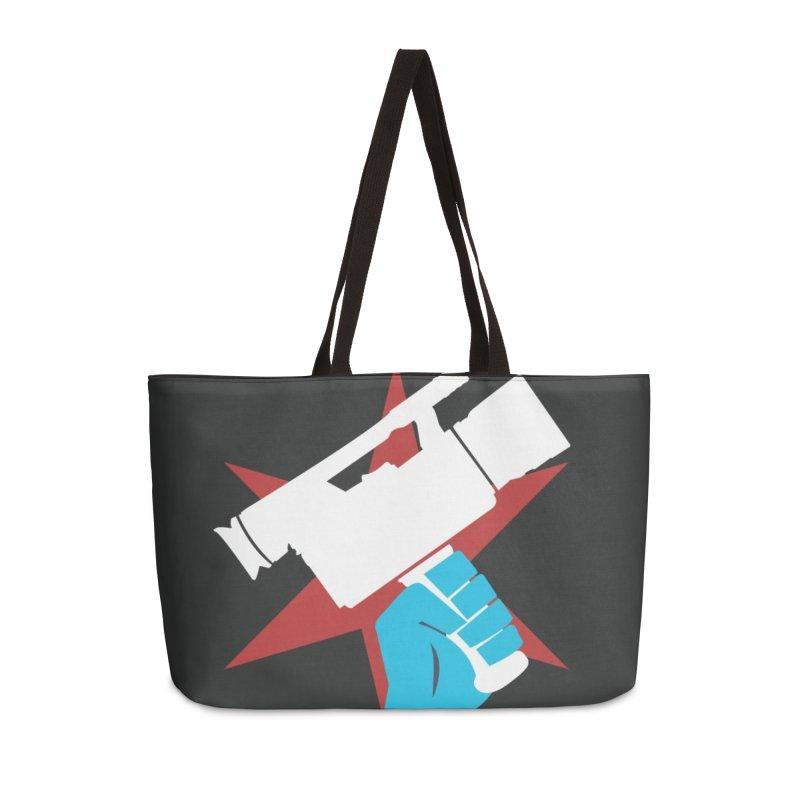 CTVNlogo Accessories Weekender Bag Bag by CommunityTVNetwork's Artist Shop