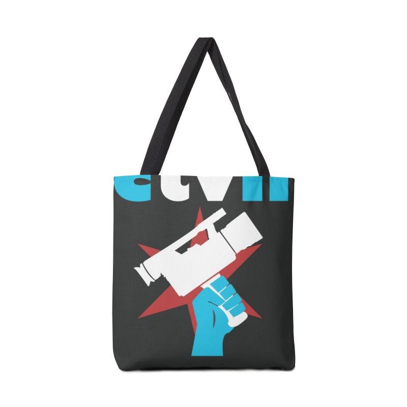 CTVNlogo Accessories Bag by CommunityTVNetwork's Artist Shop