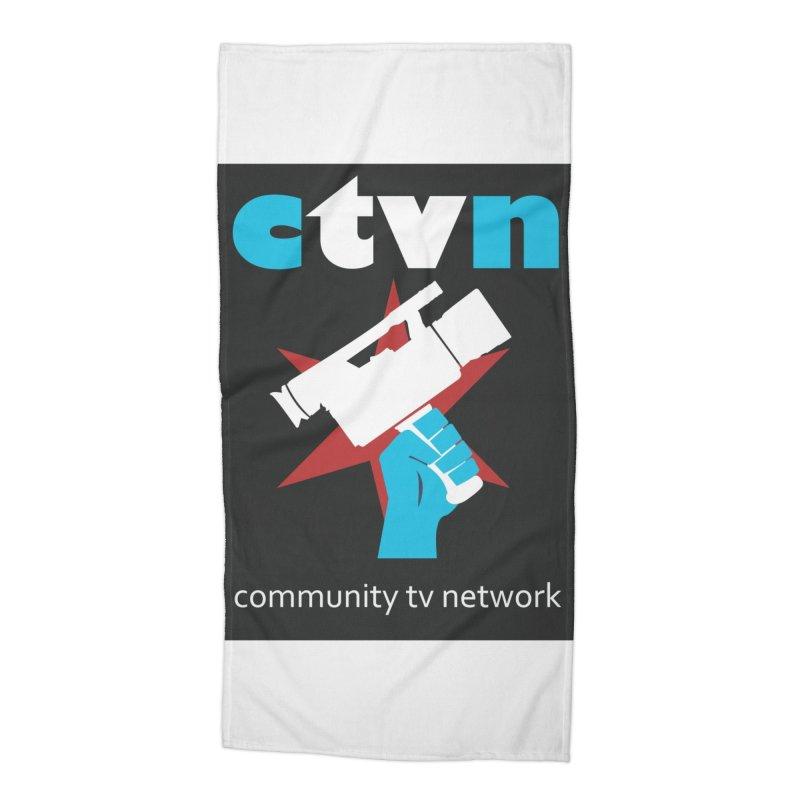 CTVNaccessories Accessories Beach Towel by CommunityTVNetwork's Artist Shop