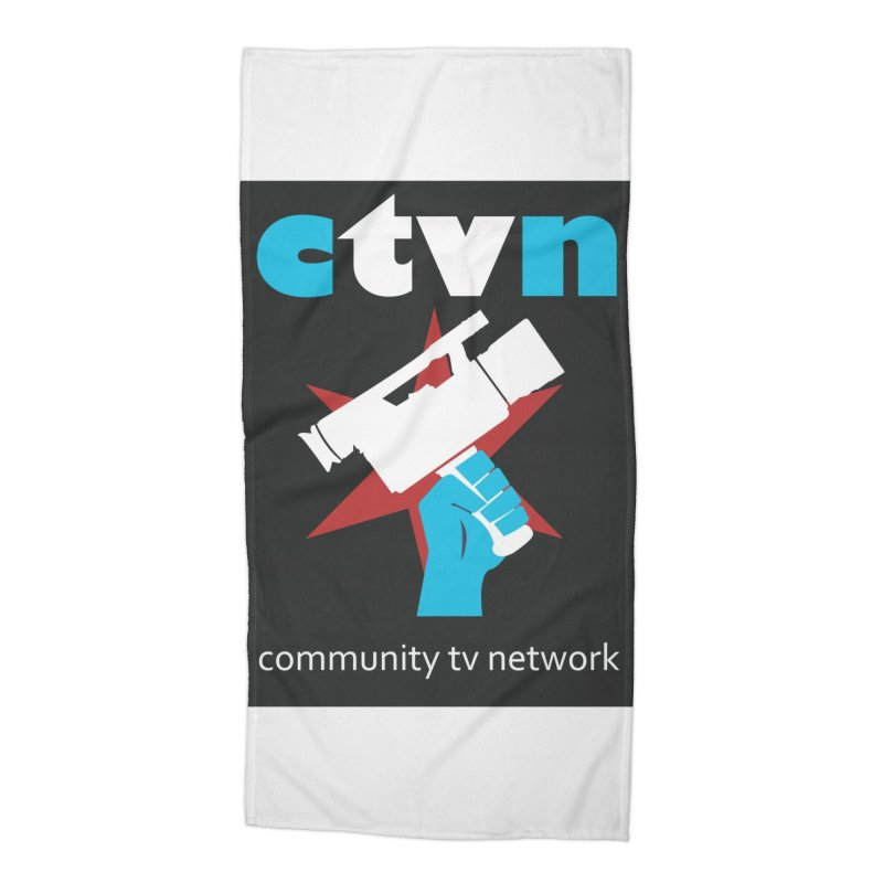 CTVNaccessories Accessories Beach Towel by CommunityTVNetwork's Artist Shop