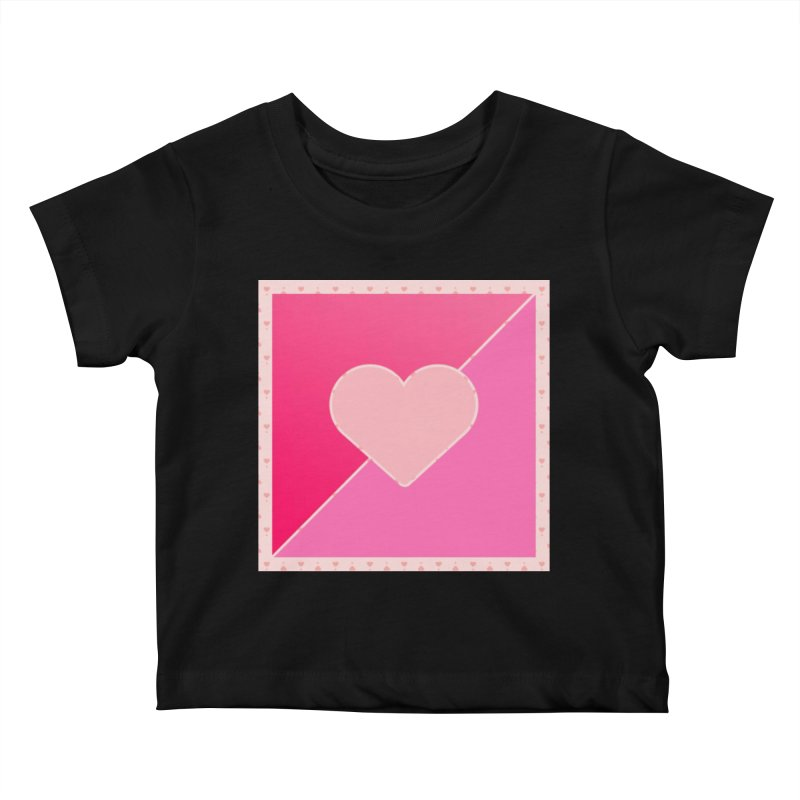 Loves Kids Baby T-Shirt by Communityholidays's Artist Shop