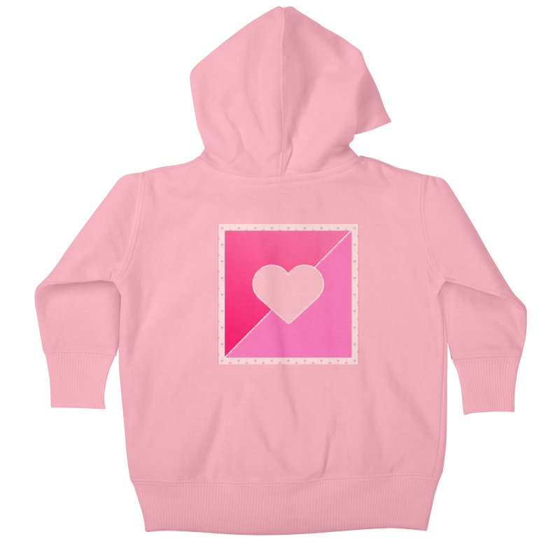 Loves Kids Baby Zip-Up Hoody by Communityholidays's Artist Shop
