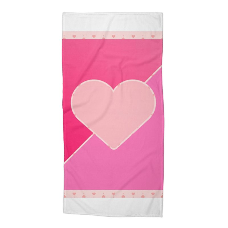 Loves Accessories Beach Towel by Communityholidays's Artist Shop