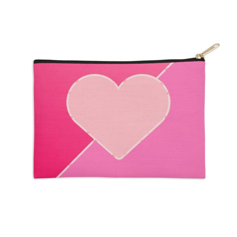 Loves Accessories Zip Pouch by Communityholidays's Artist Shop