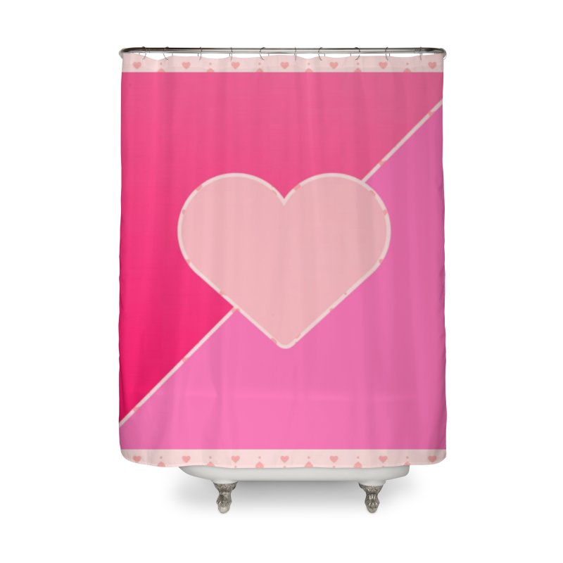 Loves Home Shower Curtain by Communityholidays's Artist Shop