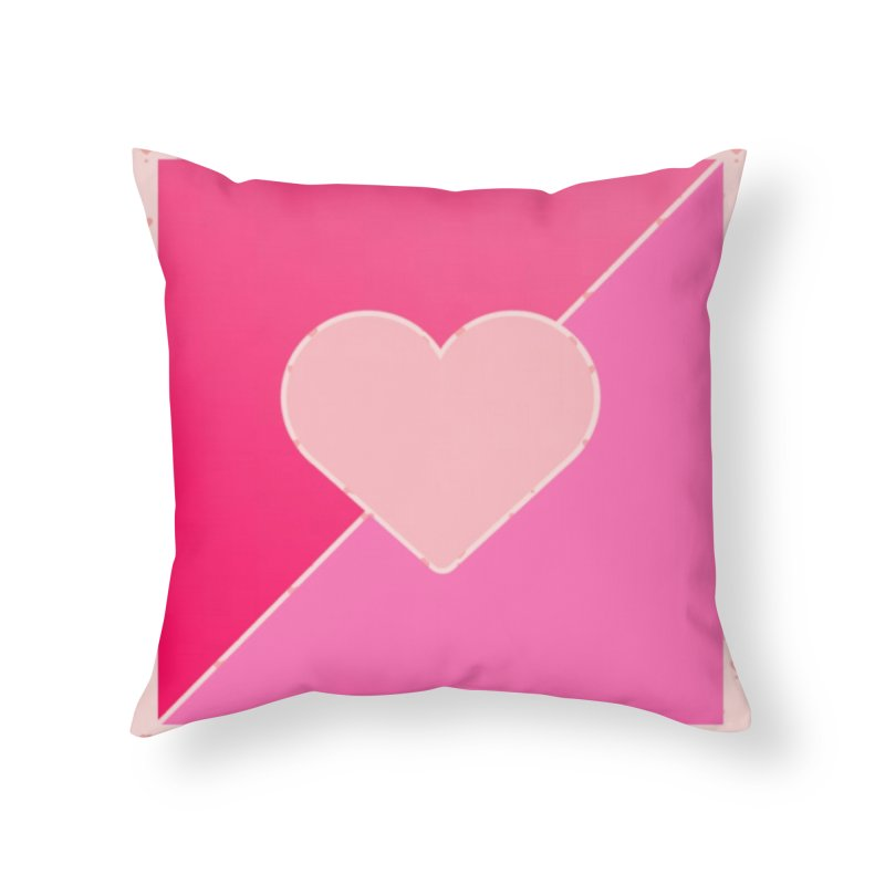 Loves Home Throw Pillow by Communityholidays's Artist Shop