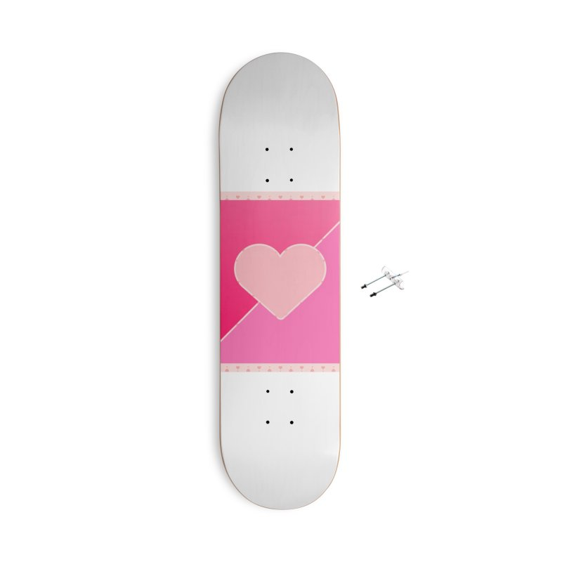 Loves Accessories Skateboard by Communityholidays's Artist Shop