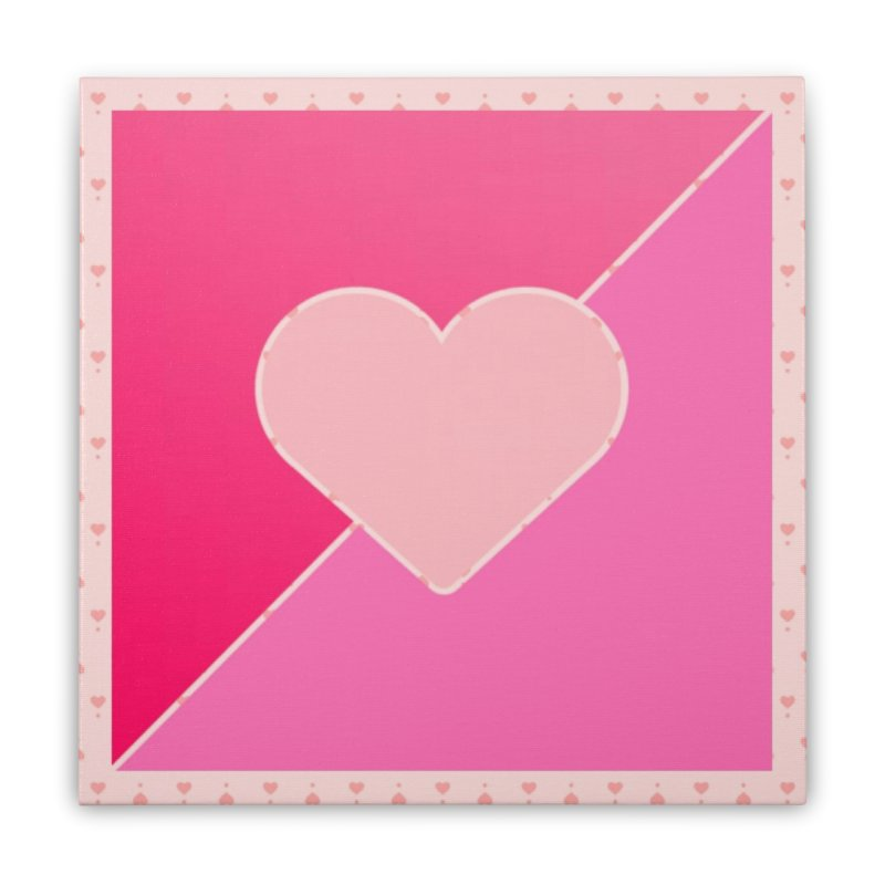 Loves Home Stretched Canvas by Communityholidays's Artist Shop