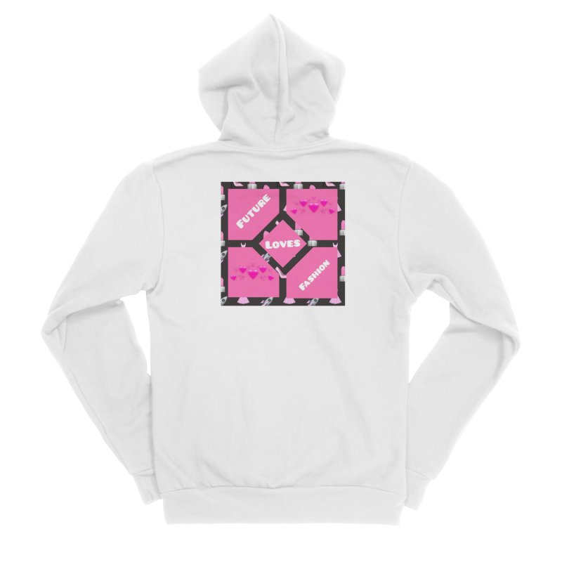 Fashionable Future Men's Zip-Up Hoody by Communityholidays's Artist Shop