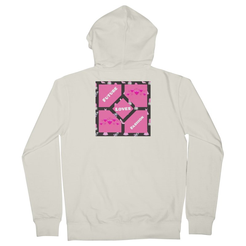 Fashionable Future Women's Zip-Up Hoody by Communityholidays's Artist Shop