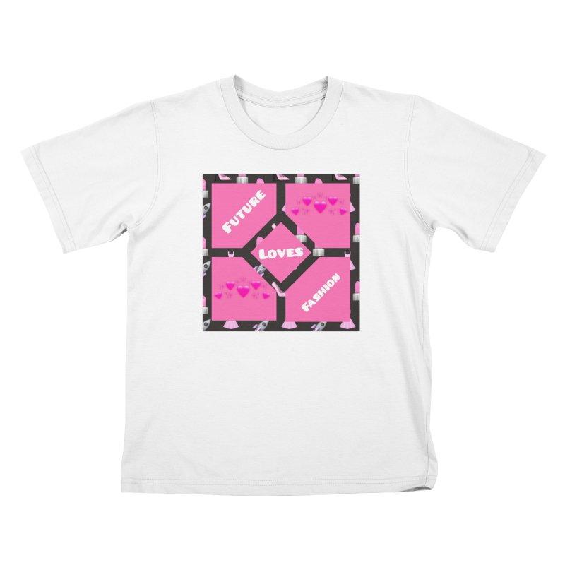 Fashionable Future Kids T-Shirt by Communityholidays's Artist Shop