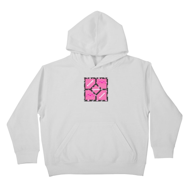 Fashionable Future Kids Pullover Hoody by Communityholidays's Artist Shop