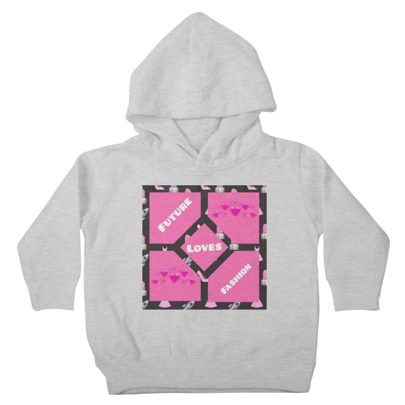 Fashionable Future Kids Toddler Pullover Hoody by Communityholidays's Artist Shop