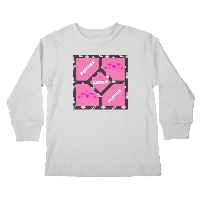 Fashionable Future Kids Longsleeve T-Shirt by Communityholidays's Artist Shop