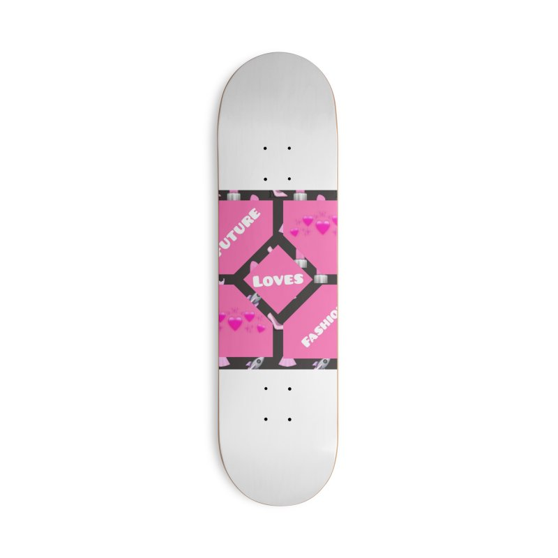 Fashionable Future Accessories Skateboard by Communityholidays's Artist Shop