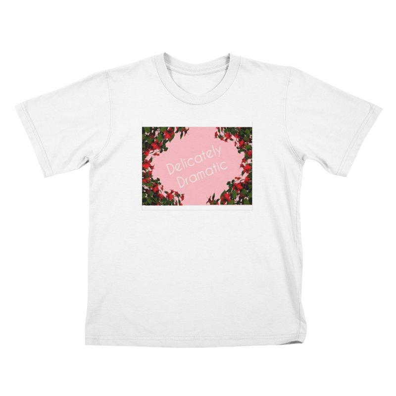 Delicately Put Kids T-Shirt by Communityholidays's Artist Shop