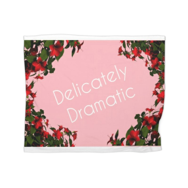Delicately Put Home Blanket by Communityholidays's Artist Shop