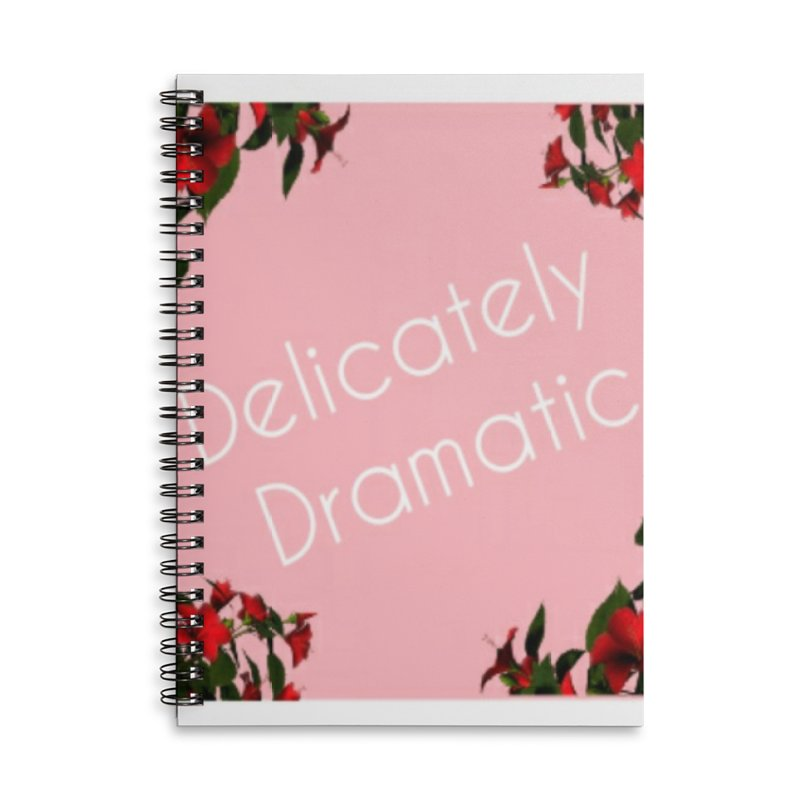 Delicately Put Accessories Notebook by Communityholidays's Artist Shop