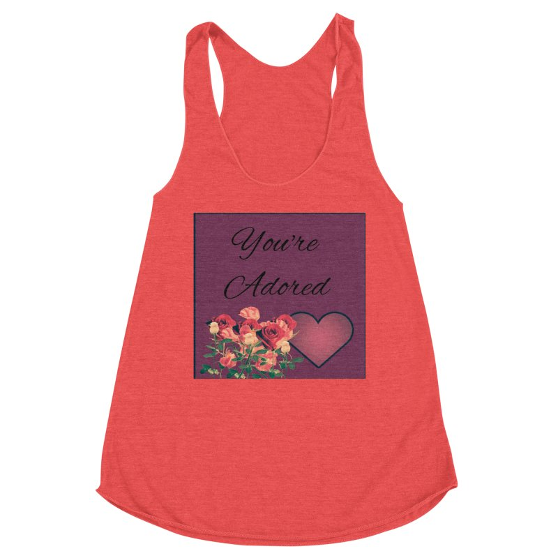Adorable Women's Tank by Communityholidays's Artist Shop