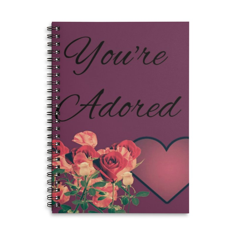 Adorable Accessories Notebook by Communityholidays's Artist Shop