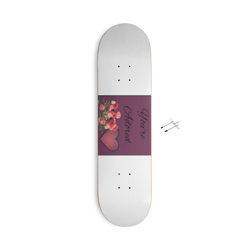 Adorable Accessories Skateboard by Communityholidays's Artist Shop