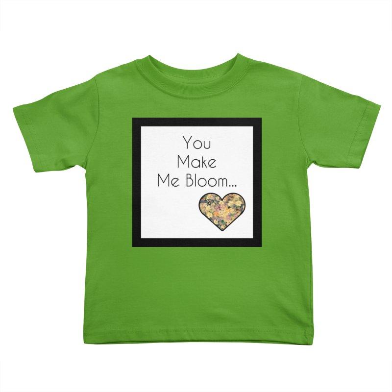 Bloom Kids Toddler T-Shirt by Communityholidays's Artist Shop