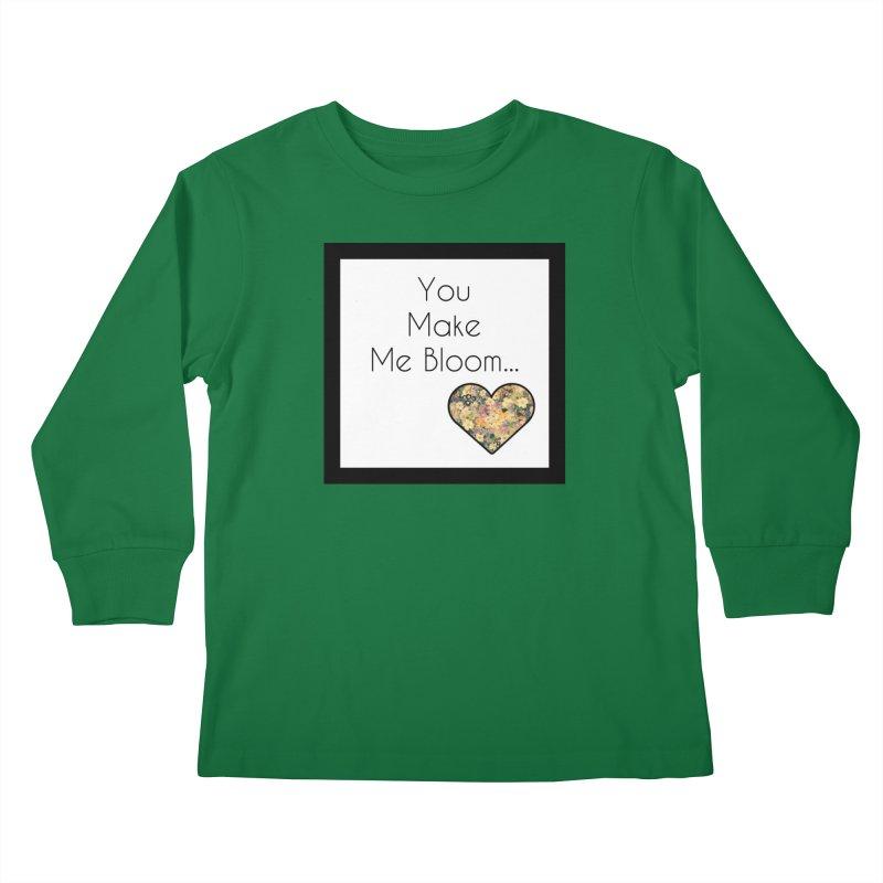 Bloom Kids Longsleeve T-Shirt by Communityholidays's Artist Shop