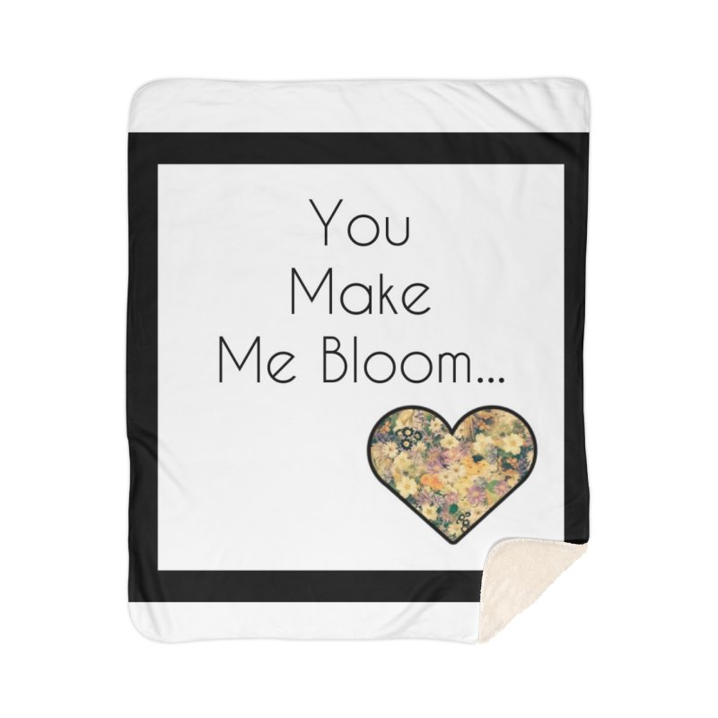Bloom Home Blanket by Communityholidays's Artist Shop