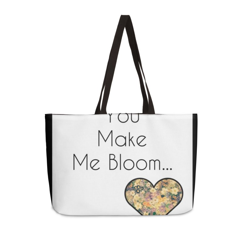 Bloom Accessories Bag by Communityholidays's Artist Shop