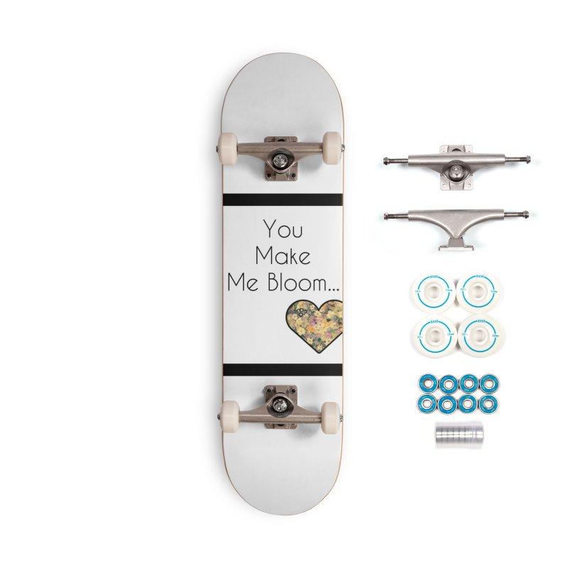 Bloom Accessories Skateboard by Communityholidays's Artist Shop