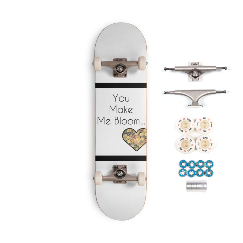 Bloom Accessories Skateboard by Communityholidays's Artist Shop