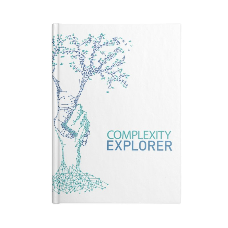 The Trand Accessories Blank Journal Notebook by Complexity Explorer Shop
