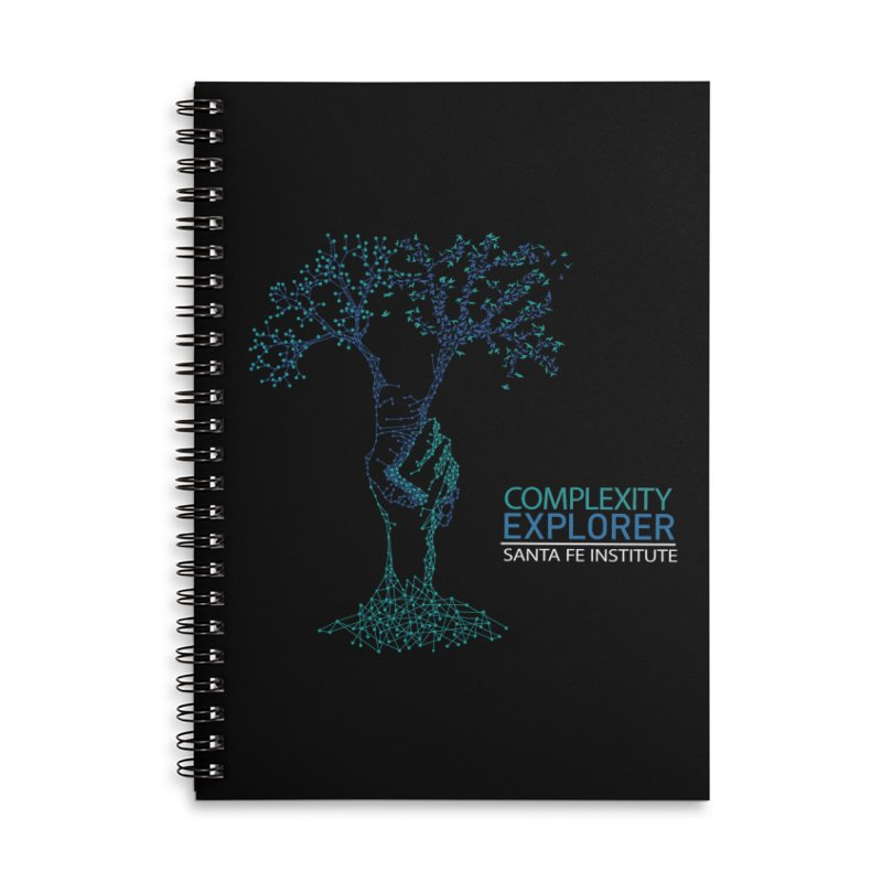 The Trand Accessories Lined Spiral Notebook by Complexity Explorer Shop
