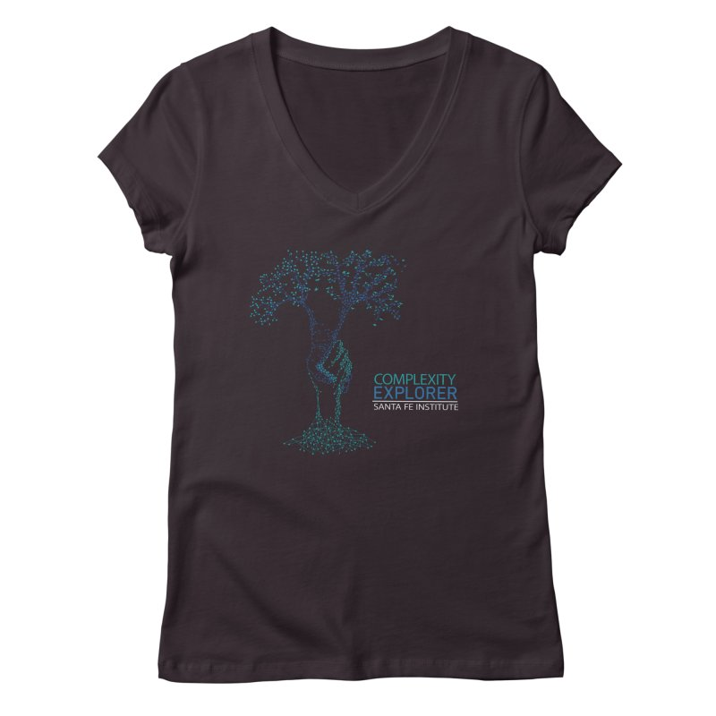 The Trand Women's Regular V-Neck by Complexity Explorer Shop