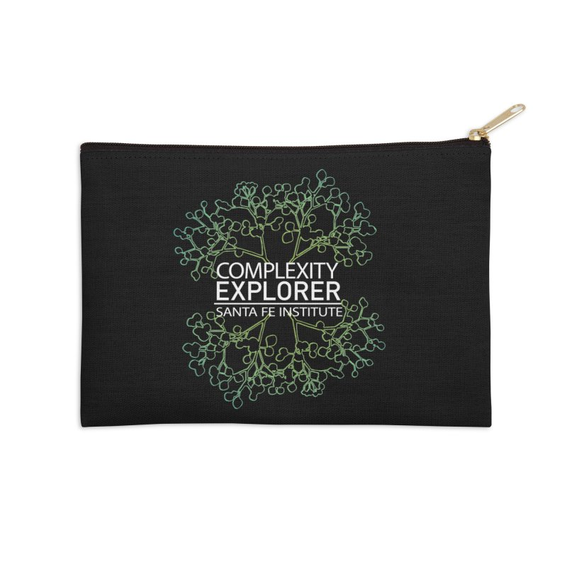 Radiant Tree Accessories Zip Pouch by Complexity Explorer Shop