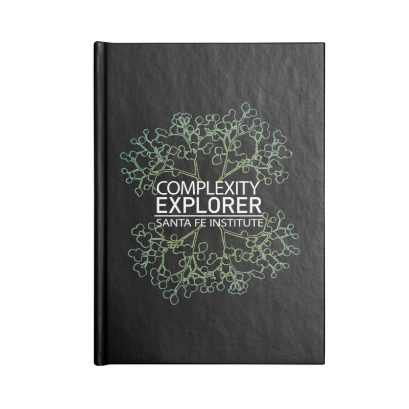Radiant Tree Accessories Blank Journal Notebook by Complexity Explorer Shop