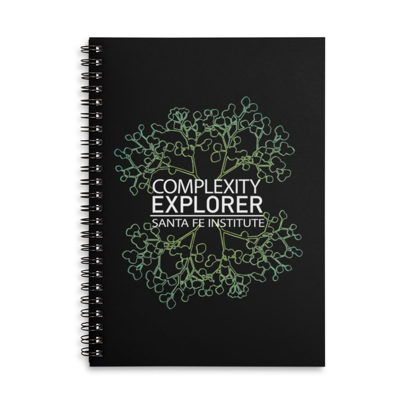 Radiant Tree Accessories Lined Spiral Notebook by Complexity Explorer Shop
