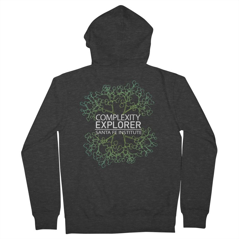 Radiant Tree Men's French Terry Zip-Up Hoody by Complexity Explorer Shop