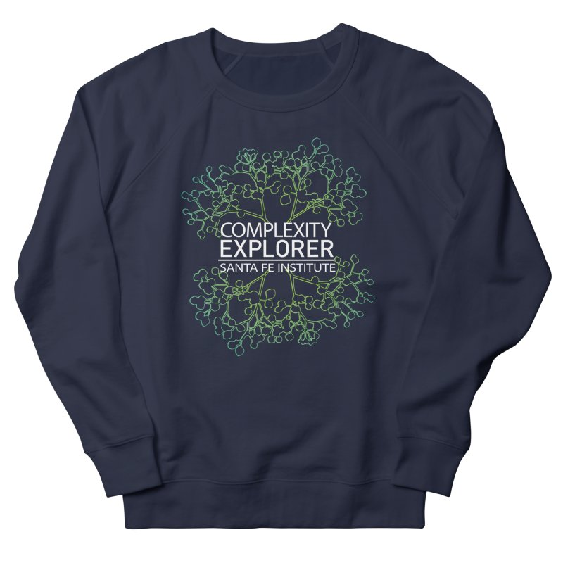 Radiant Tree Men's French Terry Sweatshirt by Complexity Explorer Shop