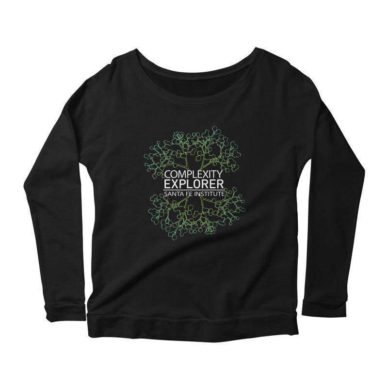 Radiant Tree Women's Scoop Neck Longsleeve T-Shirt by Complexity Explorer Shop