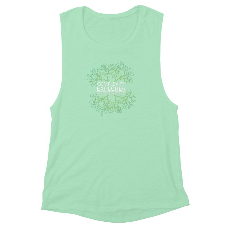Radiant Tree Women's Muscle Tank by Complexity Explorer Shop