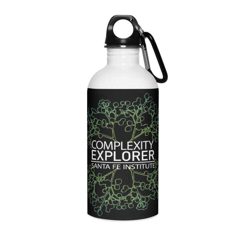 Radiant Tree Accessories Water Bottle by Complexity Explorer Shop