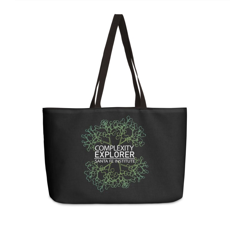 Radiant Tree Accessories Weekender Bag Bag by Complexity Explorer Shop
