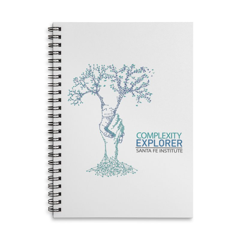The Trand (light shirts)  Accessories Lined Spiral Notebook by Complexity Explorer Shop