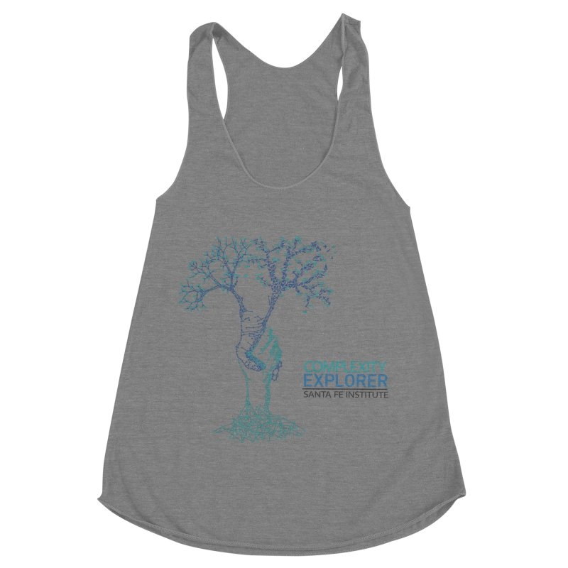 The Trand (light shirts)  Women's Racerback Triblend Tank by Complexity Explorer Shop